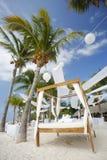 plażowy ślub zdjęcia stock
