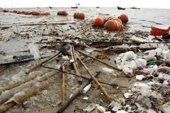 plażowy śmieci Zdjęcie Royalty Free