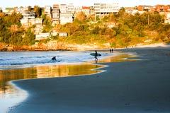plażowy świt Zdjęcie Stock