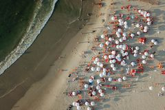 Plażowy życie obrazy stock