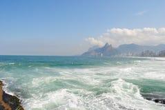 plażowy 5 janeiro De Ipanema Rio s Zdjęcie Stock