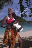 plażowy bębnienie Zdjęcia Stock