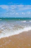 plażowy błękitny głębokiego morza niebo Zdjęcie Stock