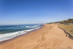 Plażowy Błękitny ocean Obrazy Royalty Free