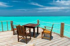 Plażowy bar zdjęcie royalty free