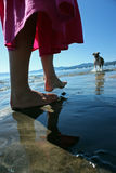 plażowy bawić się Fotografia Royalty Free