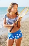 plażowy bawić się Zdjęcia Royalty Free