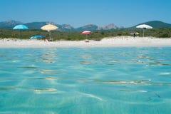 plażowy bianca Rena zdjęcia royalty free