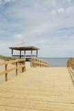 Plażowy Boardwalk obraz royalty free