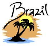 Plażowy Brazil ilustracja wektor