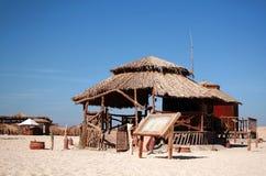plażowy bungalow Obraz Stock