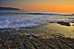 plażowy Clare okręg administracyjny doolin Ireland Obrazy Stock