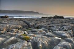 plażowy Clare okręg administracyjny doolin Ireland Zdjęcie Stock