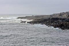 plażowy Clare okręg administracyjny doolin Ireland Fotografia Stock