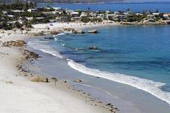 plażowy clifton obraz royalty free