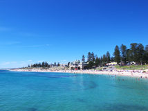 plażowy cottesloe Obrazy Royalty Free