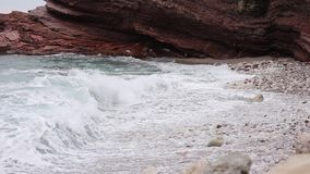 Plażowy ` Crvena Glavica ` w Montenegro zbiory
