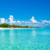 plażowy Cuba fotografujący denny Varadero Obrazy Stock