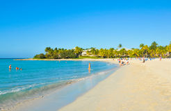 plażowy Cuba Varadero obrazy royalty free