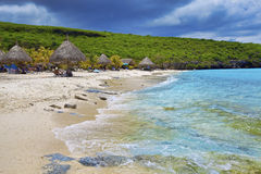 plażowy Curacao obrazy stock