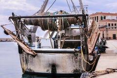 plażowy Danang łodzi rybackich viet nam Obrazy Stock