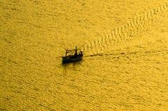 plażowy Danang łodzi rybackich viet nam Fotografia Stock