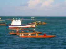 plażowy Danang łodzi rybackich viet nam zdjęcie stock