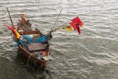 plażowy Danang łodzi rybackich viet nam Obraz Stock