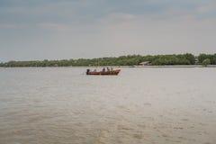 plażowy Danang łodzi rybackich viet nam Fotografia Royalty Free