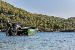 plażowy Danang łodzi rybackich viet nam Obrazy Royalty Free