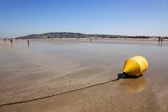 plażowy Deauville zdjęcie stock