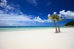 plażowy doskonalić Fotografia Stock