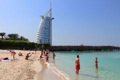 plażowy Dubai zdjęcie stock