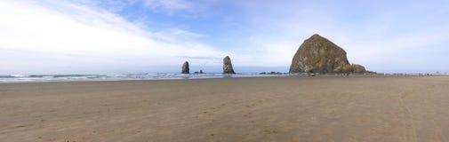 plażowy działo Oregon zdjęcie stock