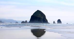 plażowy działo Oregon obraz stock