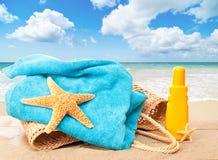 plażowy dzień fotografia royalty free