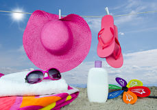 plażowy dzień Zdjęcie Royalty Free