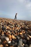plażowy dziecka wolności bieg fotografia royalty free