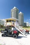 plażowy Florida Miami Zdjęcie Royalty Free