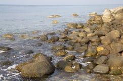 plażowy footpath mola morze Fotografia Stock