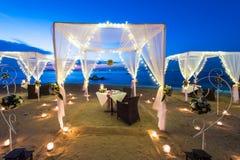 plażowy gość restauracji Obraz Royalty Free