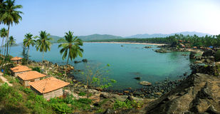 plażowy goa laguny palolem obraz royalty free