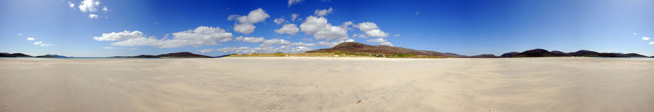 plażowy Harris hebrides luskentrye zewnętrzny Fotografia Royalty Free