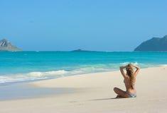 plażowy Hawaii obrazy stock