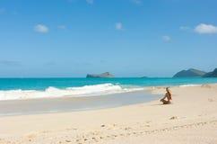 plażowy Hawaii obraz royalty free