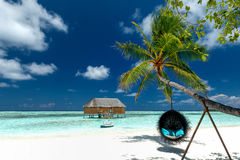 Plażowy holu krzesło fotografia royalty free