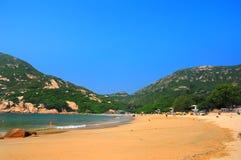 plażowy Hong kong o shek zdjęcie royalty free