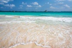 Plażowy i Idylliczny morze obrazy stock