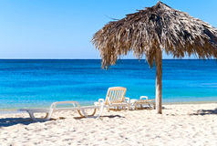 plażowy idylliczny zdjęcie royalty free