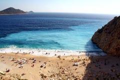 plażowy indyk Fotografia Stock